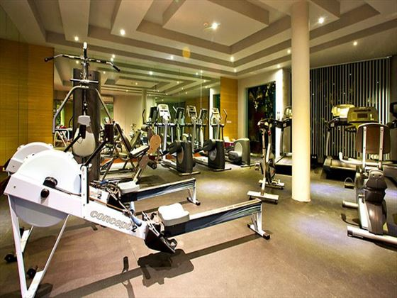 Mai Khaolak Beach Resort & Spa fitness room