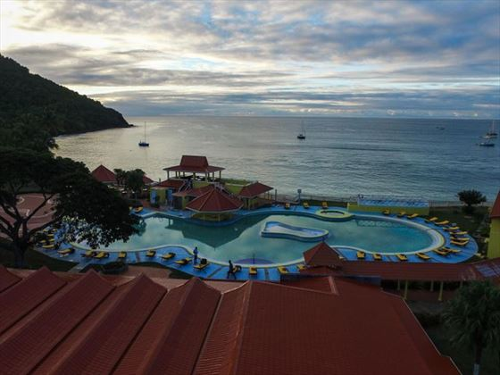 The main pool at Papillon by Rex Resorts