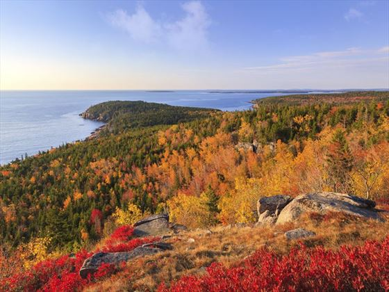 Maine in the fall