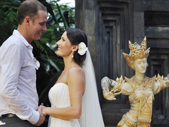 Traditional Balinese weddings