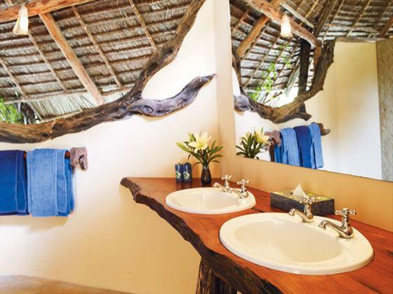 Manda Bay bathroom