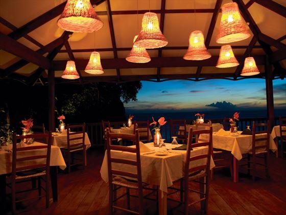 Mango Tree restaurant at Stonefield Estate Villa Resort