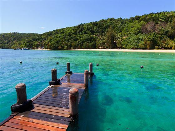 Manukan Island, Borneo