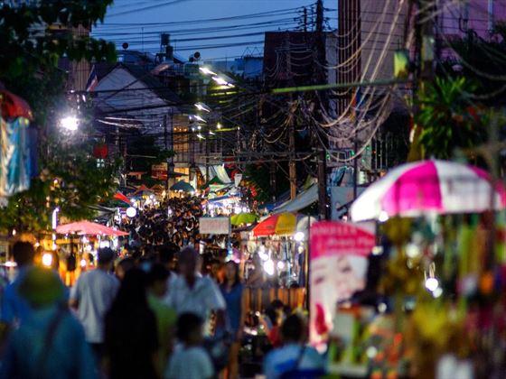 Market in Lampang