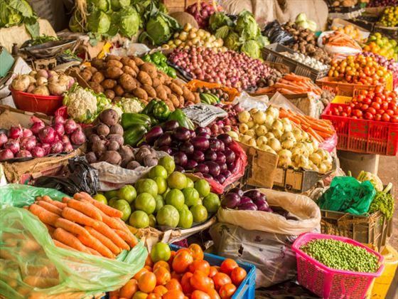 Market stall in Nairobi