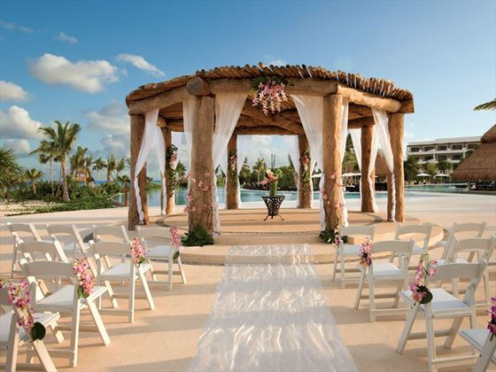 Wedding gazebo at Secrets Maroma Beach Riviera Cancun