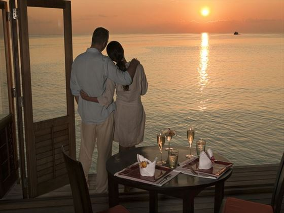 Beautiful sunset, Meeru Island Resort & Spa