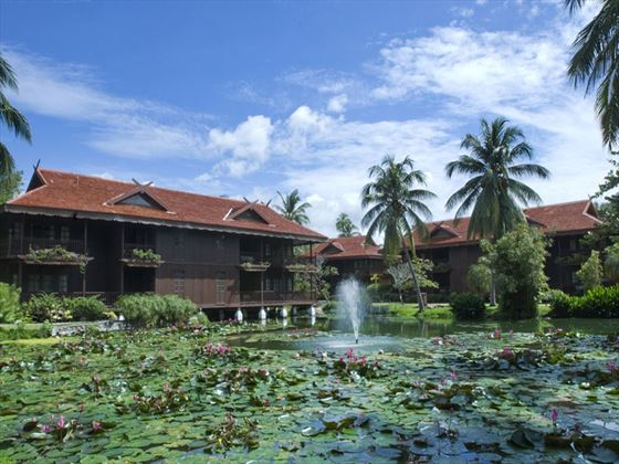 Meritus Pelangi Beach Resort & Spa lake