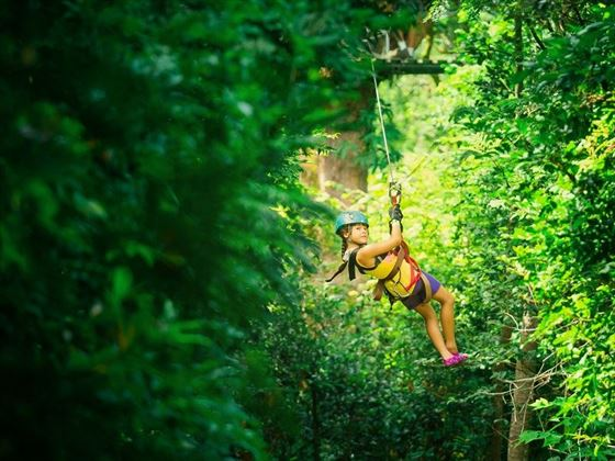 Canopy Tour in Monteverde Cloud Forest, Costa Rica