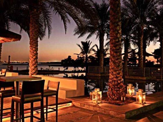 Movenpick Jumeirah Lake Towers at dusk