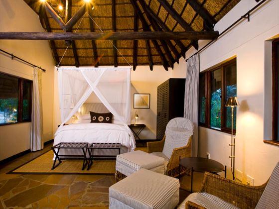 Mushara Lodge bedroom