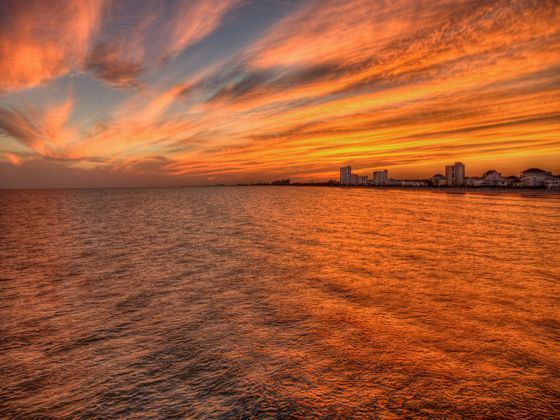 Myrtle Beach Sunset, South Carolina