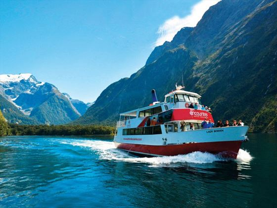 Nature cruise in search of fascinating wildlife