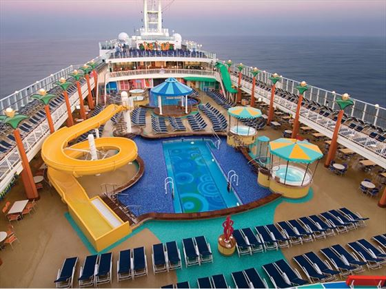 Waterpark on NCL Jewel