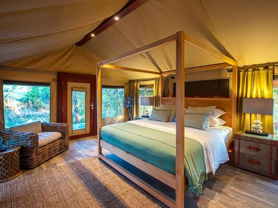 Nimali Tarangire, guest tent interior