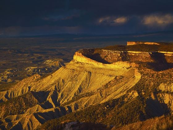 Mesa Verde National Park's north rim