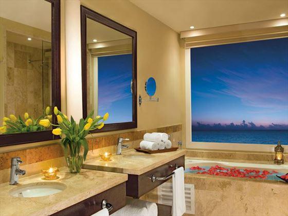 Now Jade Riviera Cancun bathroom