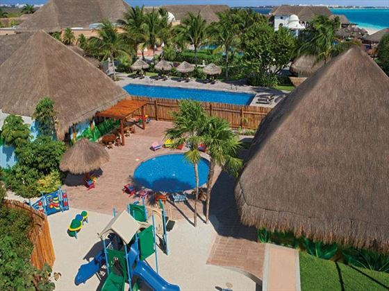 Now Sapphire Riviera Cancun Childrens play area and pool