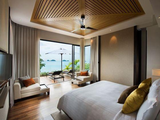 Oceanview Three Bedroom Pool Villa Junior Suite