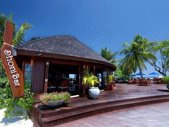 Olhuveli Beach & Spa Resort Dhoni Bar