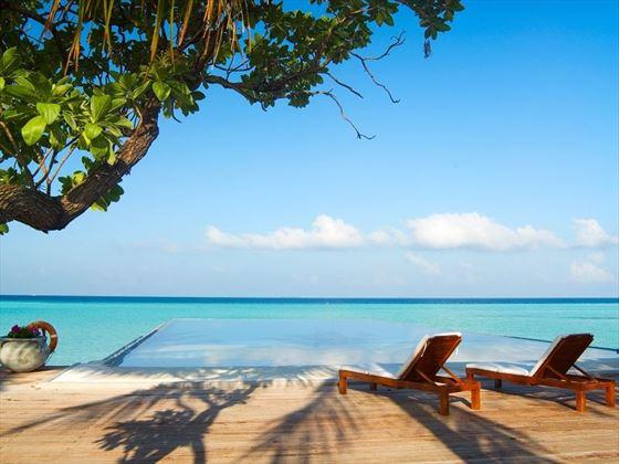 Olhuveli Beach & Spa Resort infinity pool