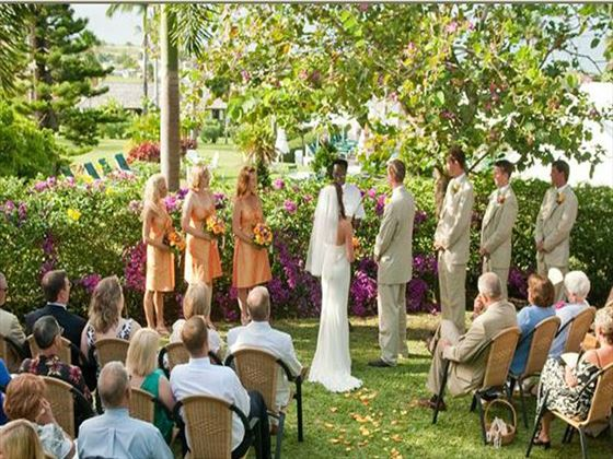 Ottley's Plantation Inn ceremony