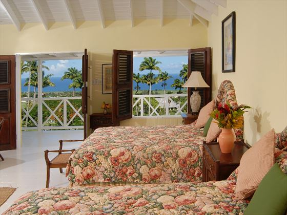Ottley's Plantation Inn Ocean View Room with Queen beds