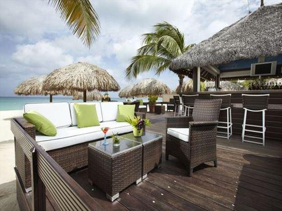 Outdoor terrace at Amsterdam Manor Beach Resort