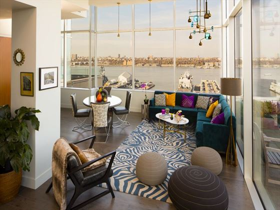 Inside the Penthouse Suite at Ink48