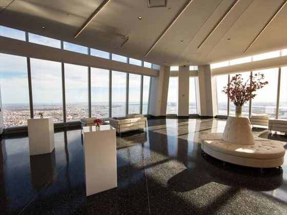 102nd floor  and the 'Aspire at One World Observatory' for a private ceremony with the Premier package