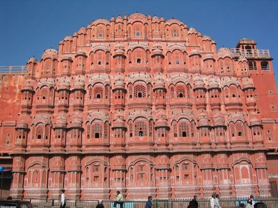 Palace of Winds in the Pink City