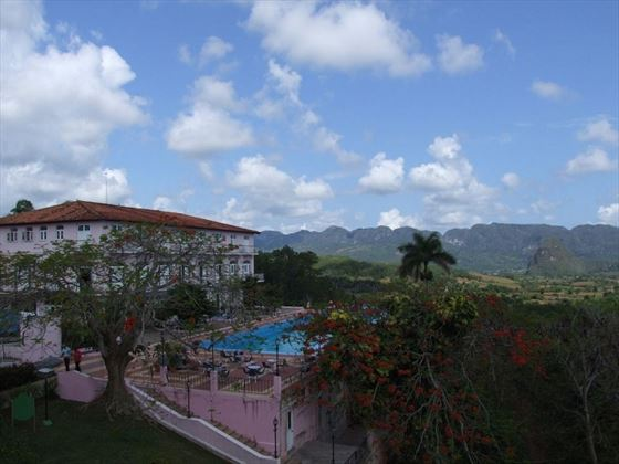 Panoramic of Vinales Valley
