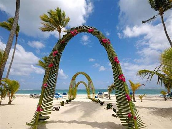 Beautiful beach weddings at Paradisus Varadero