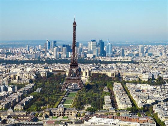 Paris - the beautiful capital city of France