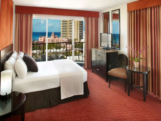 Partial Ocean View Room at Aqua Waikiki Wave Hotel