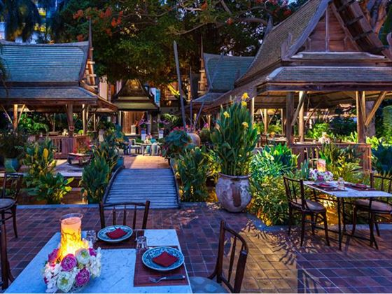 Thiptara Thai Restaurant, The Peninsula, Bangkok