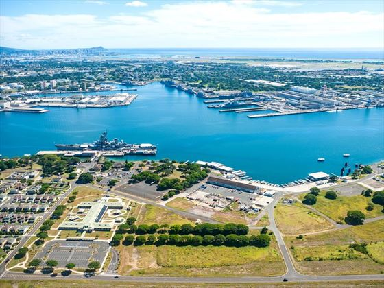 View of Pearl Harbour