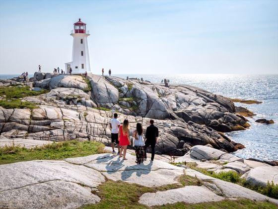 Exploring Peggy's Cove, Nova Scotia