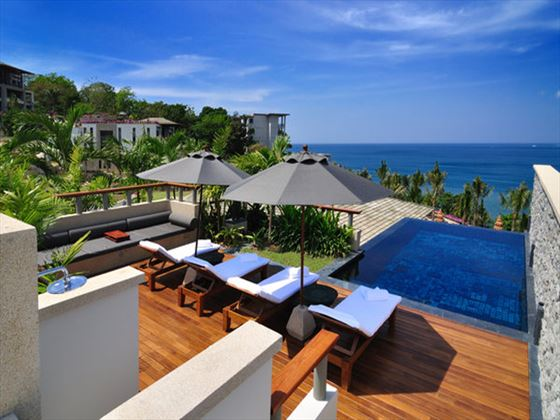 Penthouse rooftop pool at Andara Resort and Villas, Phuket