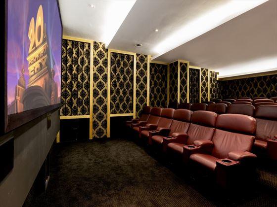 Private cinema at Pepperclub Hotel