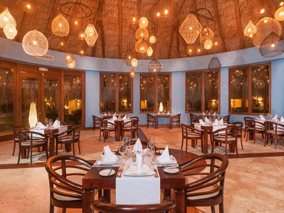 Piragua Restaurant at Zoetry Agua Resort & Spa