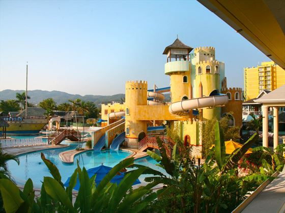 Pirates Paradise waterpark at Sunset Beach Resort and Waterpark