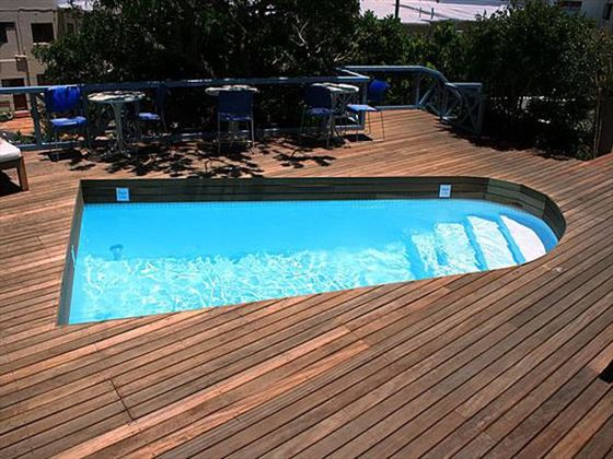 Pool deck at Camps Bay Resort