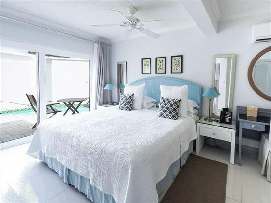 Pool Suite Bedroom at Calabash