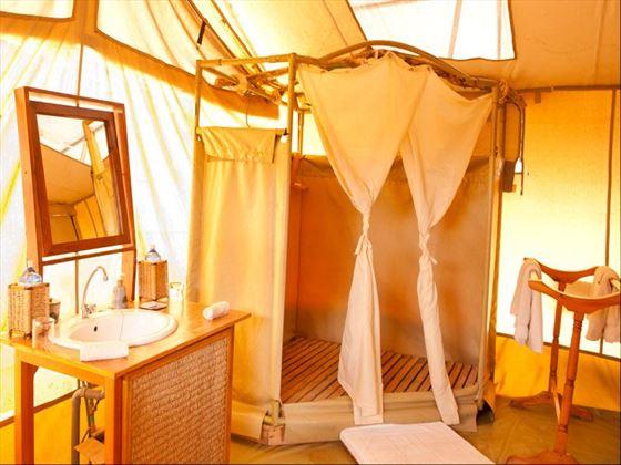 Bathroom at Amboseli Porini