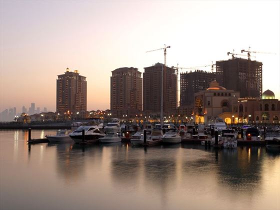 Port Arabia marina