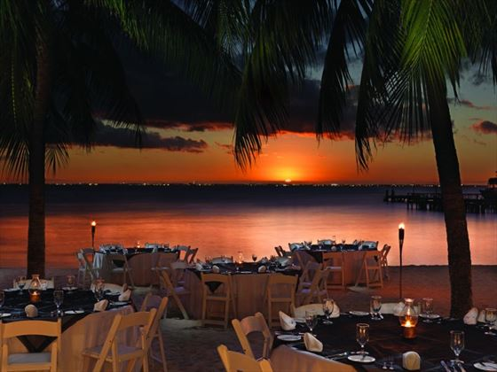 Private dining at Isla Mujeres Palace