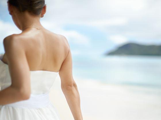 Bride at Raffles