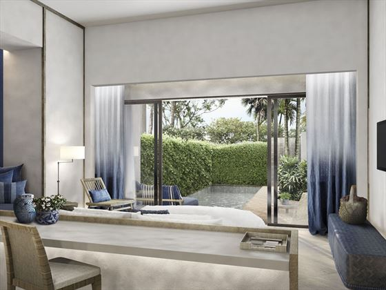Kraam Pool Suite - Interior