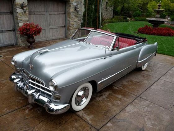 Your 1948 Cadillac Convertible